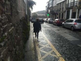 Imaxe estado actual da Rúa Castrón Douro