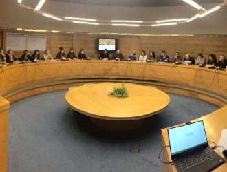 Imaxe da xornada, celebrada no Auditorio e presidida polo alcalde.