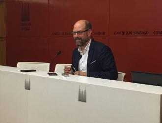 O alcalde, dando conta dos acordos da Xunta de Goberno