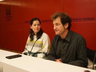 María Rozas e Jorge Duarte durante a rolda de prensa.