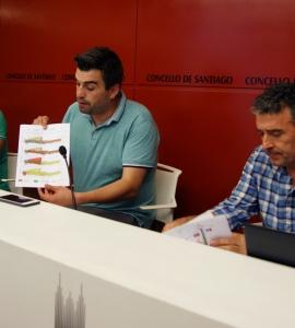 Rafael Peña explica a fase inicial da obra